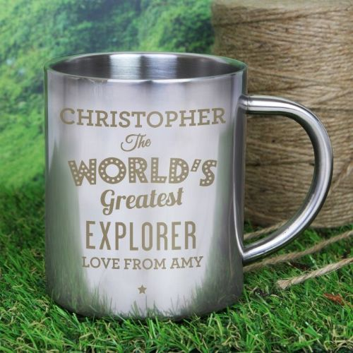 'The World's Greatest' Metal Mug